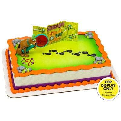 Scooby Doo Mystery Revealed Cake Topper Decorating Set