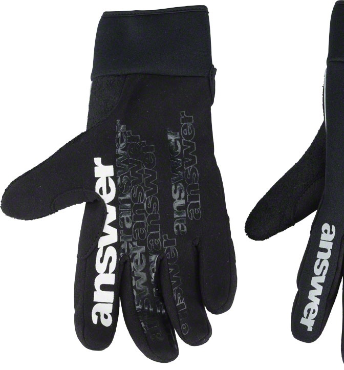 Answer Strike Cold Weather Glove: Black MD