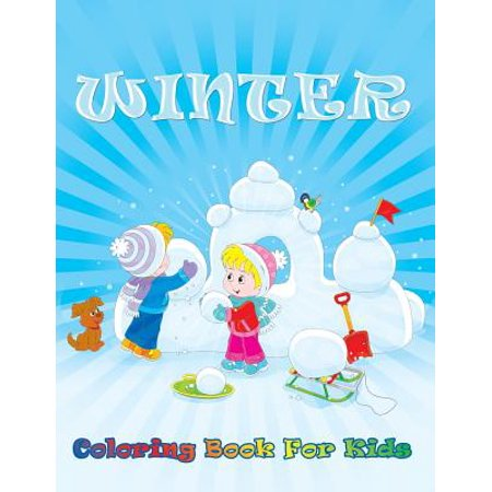 Winter Coloring Sheet (Winter Coloring Book for Kids)