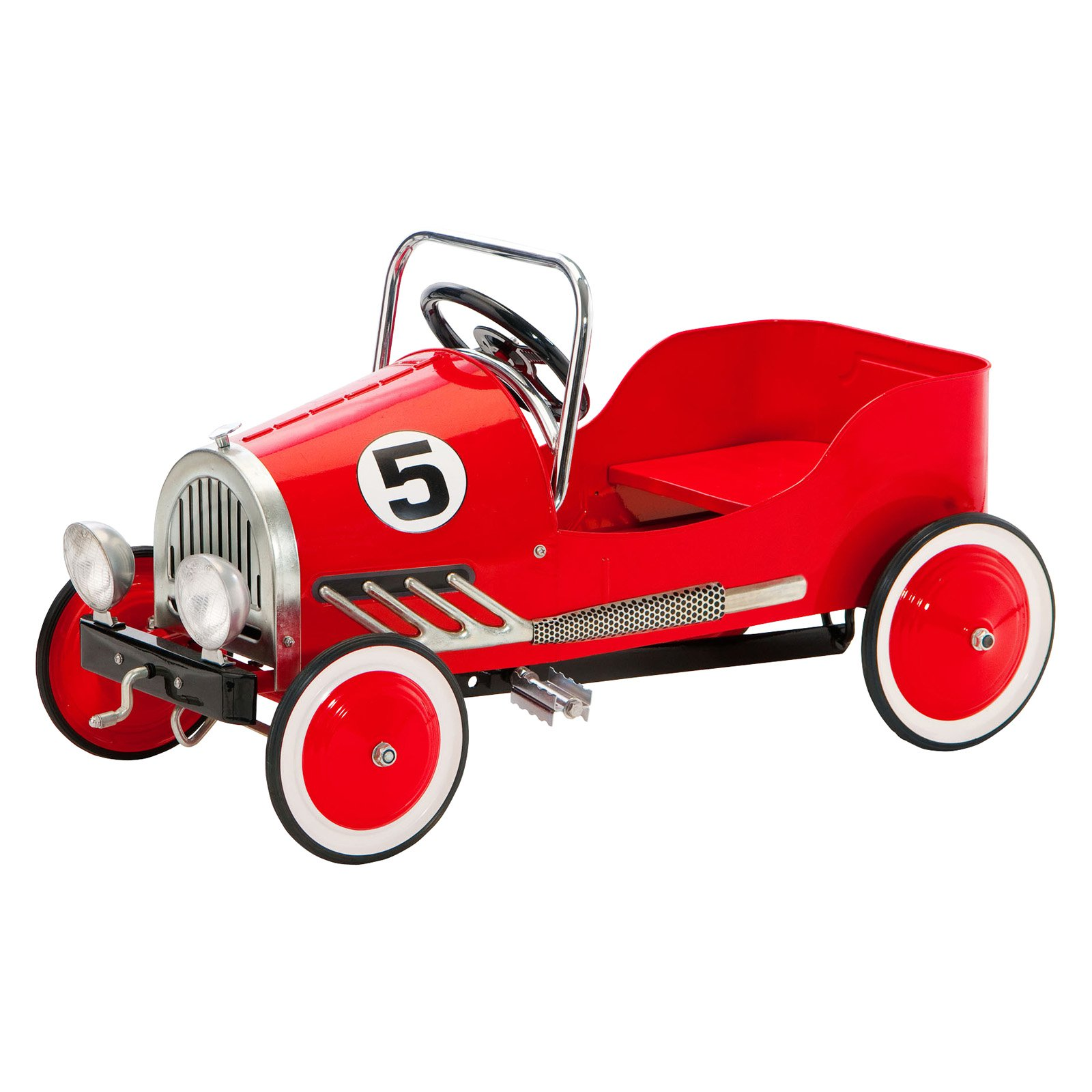 Morgan Cycle Vintage Retro Pedal Car Riding Toy - Red