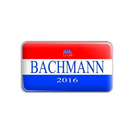 Bachmann 2016 Republican Logo Michelle Bachmann for President Metal Lapel Hat Pin Tie Tack Pinback