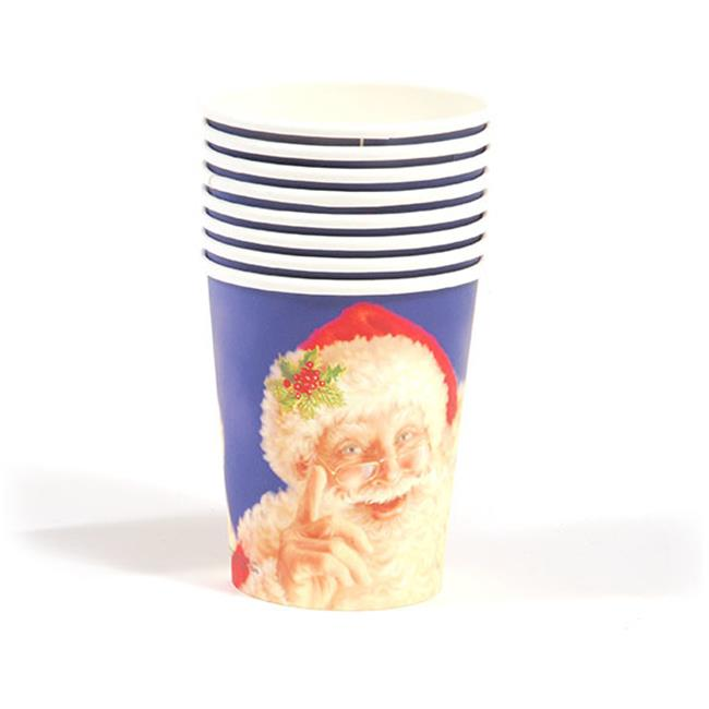 DDI 2127521 Santa Face Printed Cups Case of 36