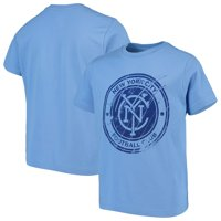 New York City FC Youth Rush to Score T-Shirt - Light Blue