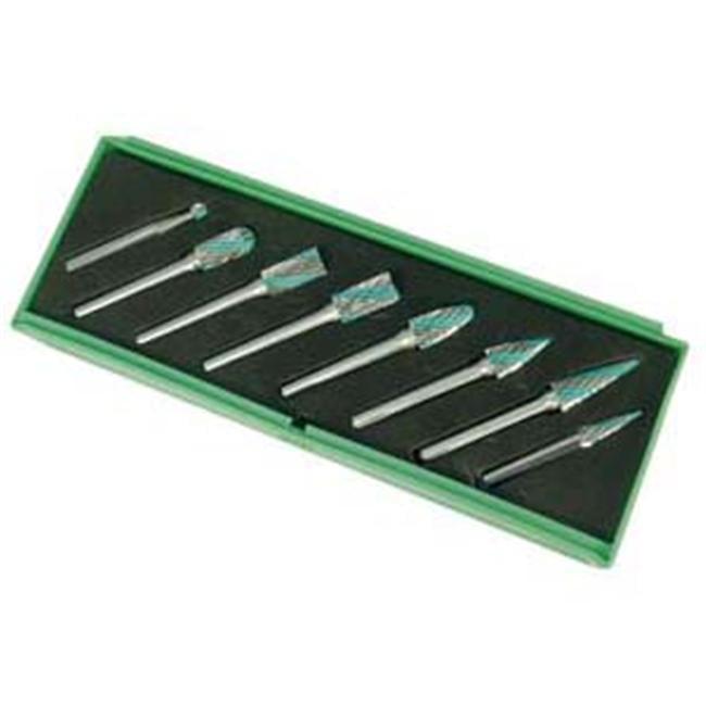 Astro Pneumatic Tool Co.  AO2188 8 Piece Carbide Rotory Bur Set
