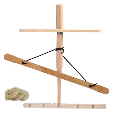 Bow Drill Kit Primitive Wood Survival Practice Friction Fire Tool Kit Outdoor Wooden Friction Educational Learning Kits