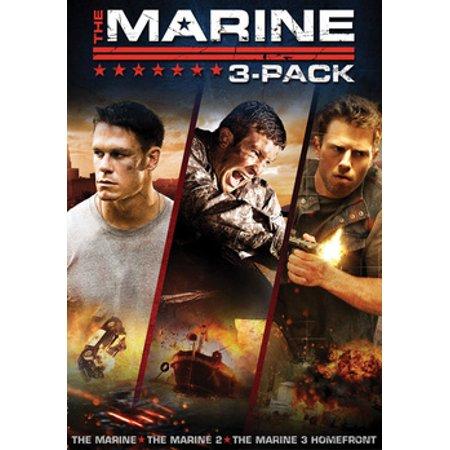 The Marine / The Marine 2 / The Marine 3: Homefront (DVD)