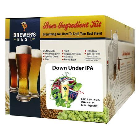 Brewer's Best Down Under IPA Ingredient Kit - 5