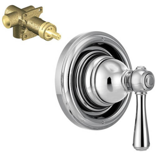 "Moen K-t4311-72orb Kingsley 3-Function Transfer Valve Trim with 1/2"" CC Rough-in, Available in Various Colors"