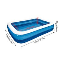 Akoyovwerve Children'S Inflatable Swimming Pool Household Baby Wear-Resistant Thick Marine Ball Pool