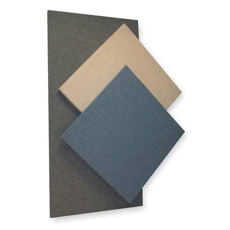 Acoustic Panel, Fabric, Blue, 8 sq. ft. Sound (Jonas Blue Perfect Strangers Acoustic Ft Jp Cooper)