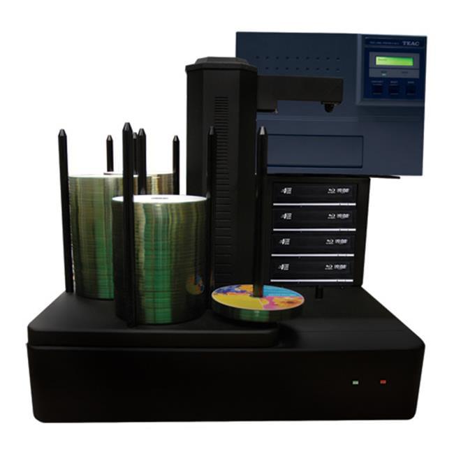 Cronus PLUS 4 Target Robotic Automatic Blu-ray DVD CD Disc TEAC P55 Thermal Printer Publishing System 500 Disc Capacity