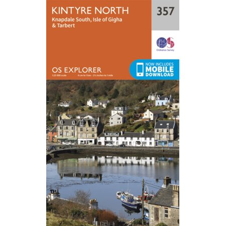 OS Explorer Map (357) Kintyre North -