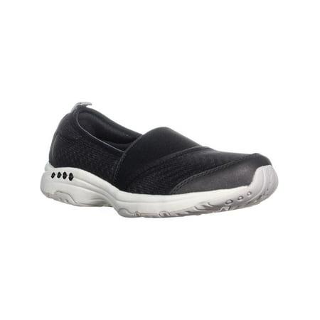 Womens Easy Spirit Twist2 Slip On Sneakers, Black ()