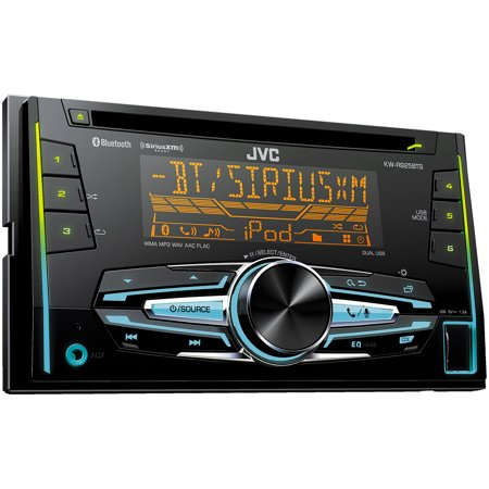 jvc refurbished kw r925bts double din bluetooth in dash. Black Bedroom Furniture Sets. Home Design Ideas