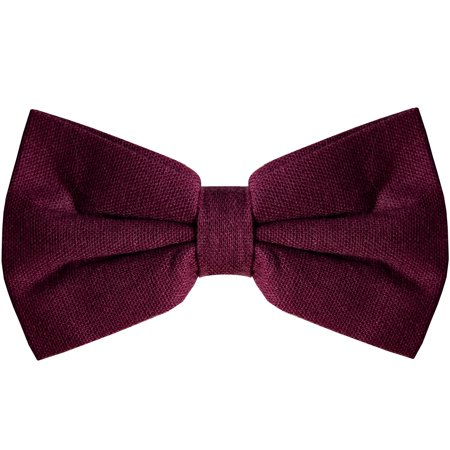 Bow Tie for Men Ties – Mens Pre Tied Formal Tuxedo Bowtie for Adults & Children,