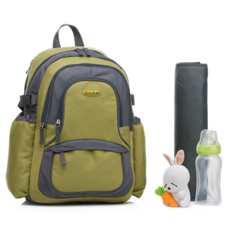 colorland functional backpack diaper bag green. Black Bedroom Furniture Sets. Home Design Ideas