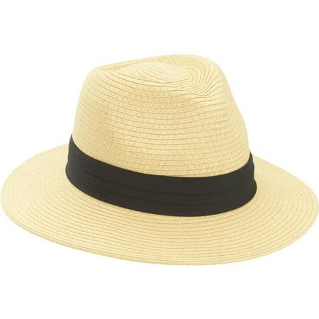 Mens Straw Panama Hat