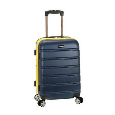 """Melbourne 20"""" Expandable Abs Carry On, Navy"""