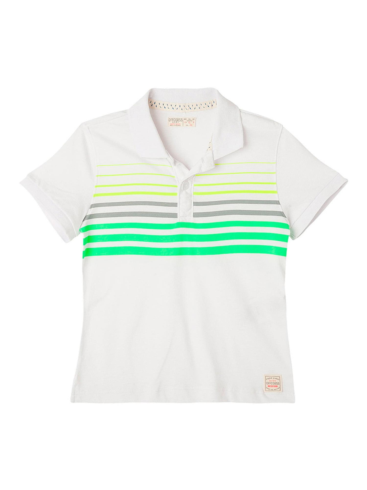 OFFCORSS Toddler Boy Cotton Polo T Shirt Camisa Camisetas Tipo Polo Para Niños