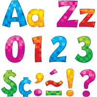 "Trend, TEP79759, 4"" Playful Ready Letters Combo Pack, 216 / Pack, Multicolor"