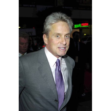 Michael Douglas At A Hand And Footprint Ceremony For Jack Valenti At GraumanS Chinese Theatre Los Angeles Ca Decmeber 6 2004 Celebrity](Hand And Footprint Art For Halloween)