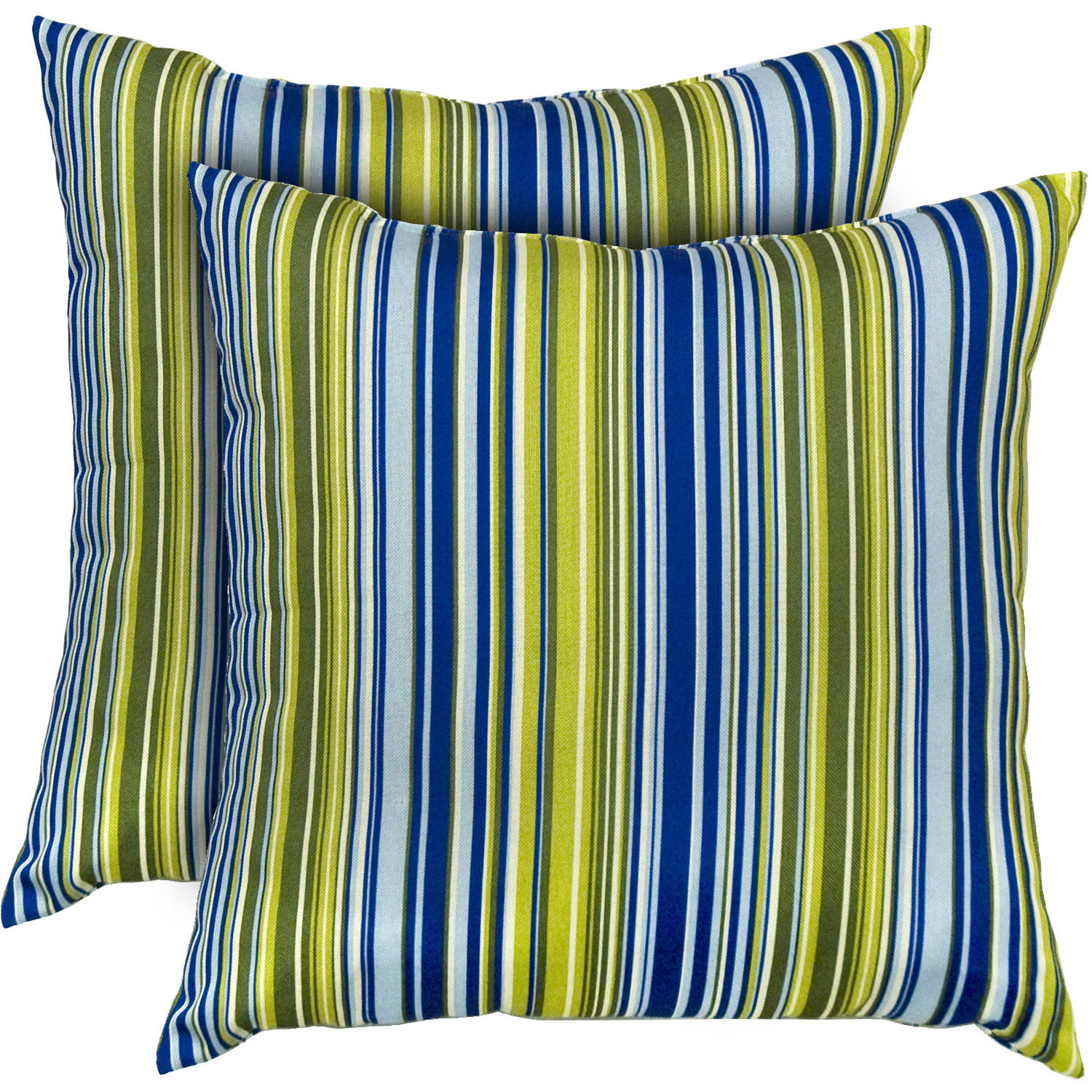 Greendale Home Fashions Outdoor Accent Pillows, Set Of 2, Indigo    Walmart.com