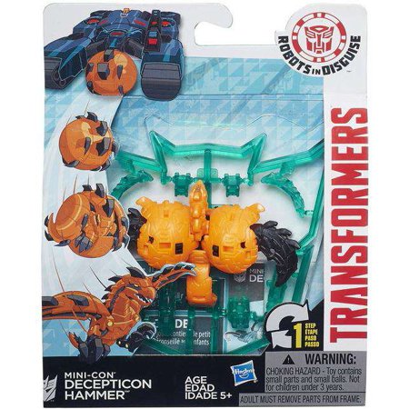 Transformers Robots in Disguise Mini-Con Decepticon Hammer Figure