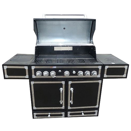Knoxville 83,000 BTU Gas Grill 5-Burner with Side Burner
