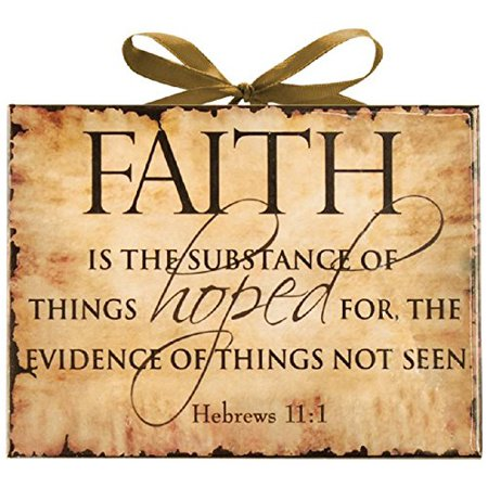 - INSPIRATIONAL PLAQUE FAITH S/3