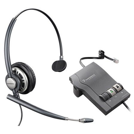 Plantronics EncorePro HW710 Corded Headset with M22 Amplifier New Replaces EncorePro HW291N with M22
