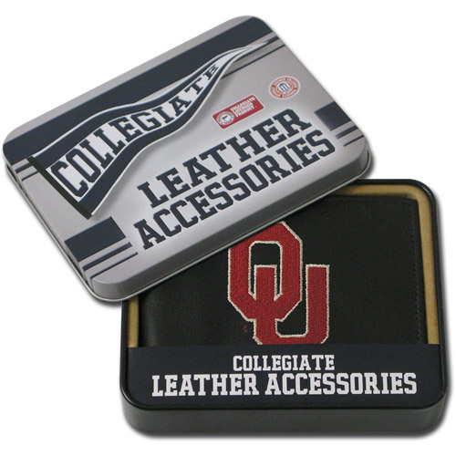 NCAA - Men's Oklahoma Sooners Embroidered Billfold Wallet