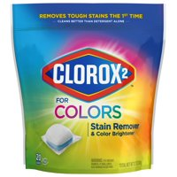 Clorox 2 For Colors Stain Remover And Color Brightener Packs, 20 Count