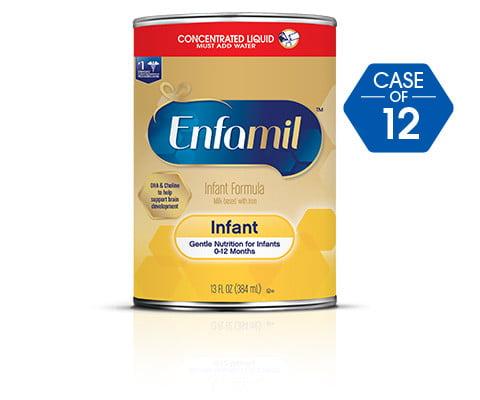 Enfamil Infant Formula,Concentrate (12 Pack) 13 fl oz Can