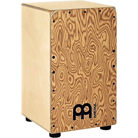 Meinl Woodcraft Series String Cajon with Makah Burl Frontplate Makah Burl