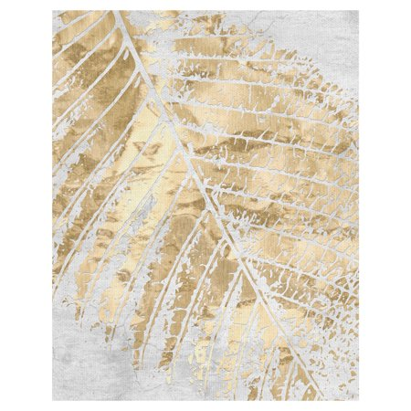 Masterpiece Art Gallery Tropical Gold Leaf by Belle Maison Canvas Art Print 22