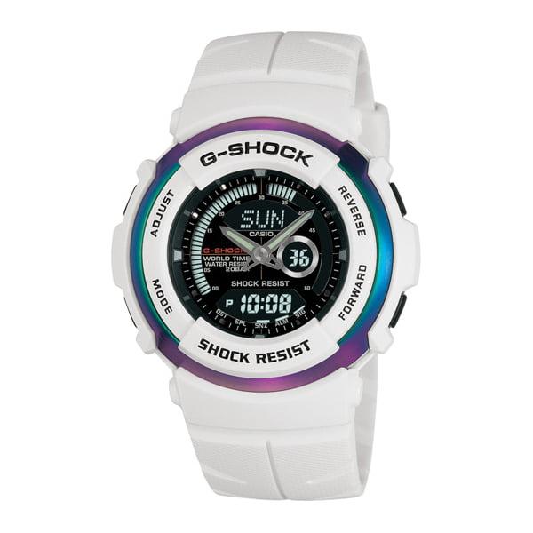 Casio G-Shock G-306X Street Rider Analog/Digital Water Resistant Men's Watch - White