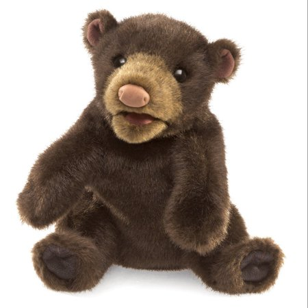 Small Black Bear (Small Black Bear Hand Puppet, Easily animate the antics of this engaging small black bear hand puppet By)