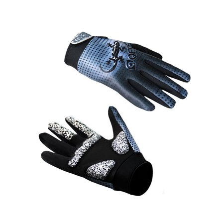 Mountain Bike Full Finger Glove Outdoor Sports Riding Fitness Training Hand Protection Cycling Warm-Keeping Gecko Gloves (Gecko Silicone Gloves)
