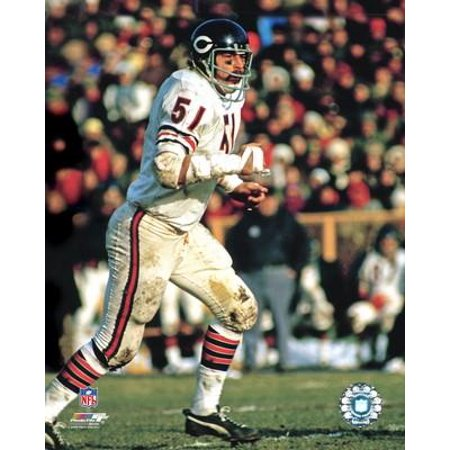 Dick Butkus Action Photo (Dick Butkus Framed)