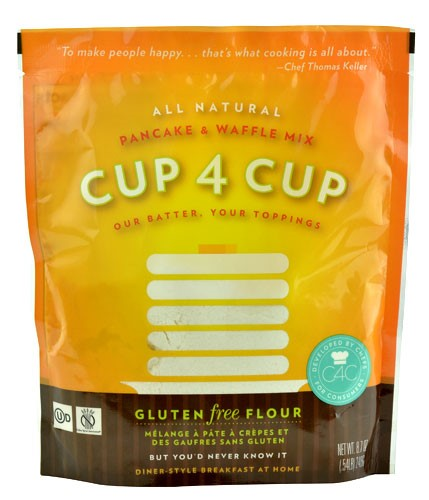 Cup 4 Cup Pancake and Waffle Mix Gluten Free 8.7 oz