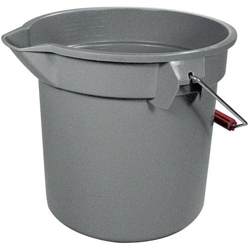 Rubbermaid Commercial Plastic Utility Bucket, 14 qt