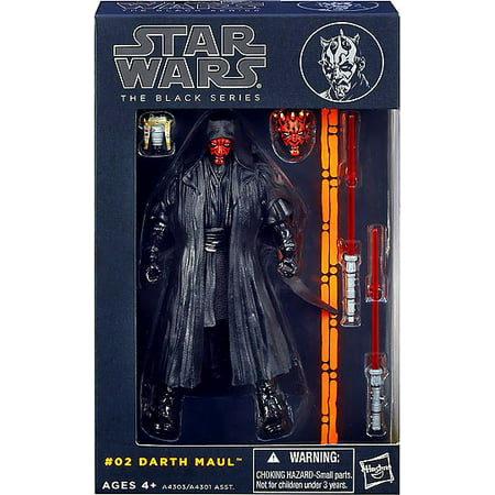 Star Wars Black Series 6-Inch Wave 1 Darth Maul Action Figure for $<!---->