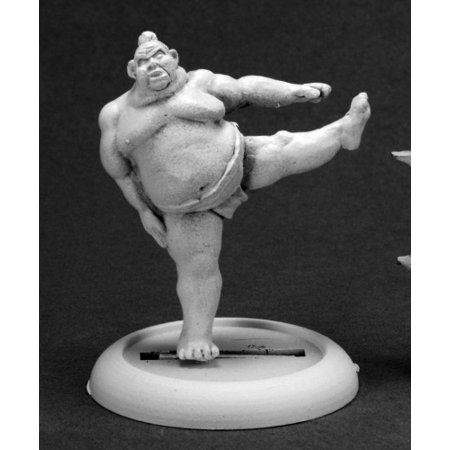 Sumo Wrestler Inflatable (Reaper Miniatures Kawa, Sumo Wrestler #50261 Chronoscope D&D RPG Mini)