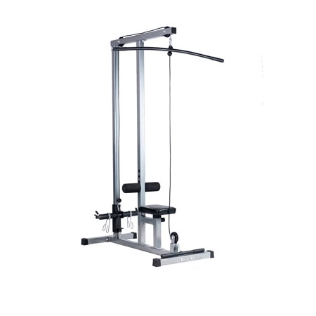Lat Pull Down Machine Multifunction Low Row Bar Cable Fitness Body Workout (Best Cable Home Gym)