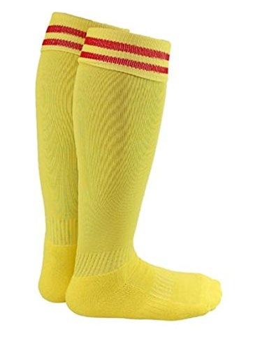 LLS Boy and Girl 2 Pairs Knee High Sports Socks for Baseball/Soccer/Lacrosse S Black