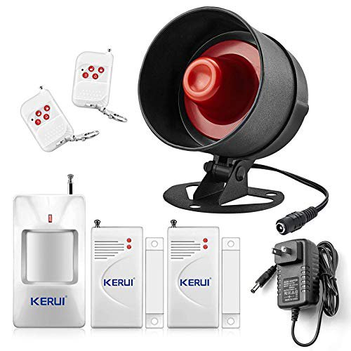 Kerui Upgraded Home Security System, Motion Detector Alarm Outdoor Wireless