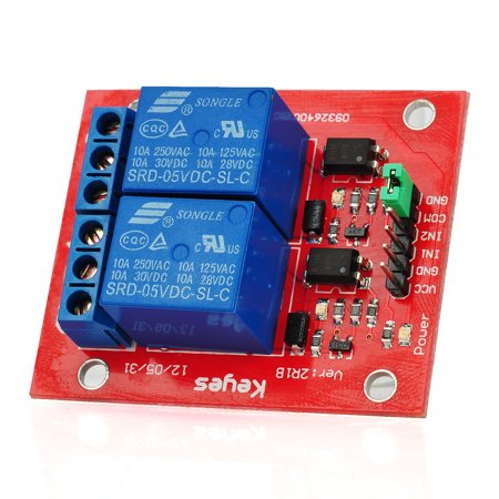 2 Channel Circuit Board TTL Relay Shield Module for Arduino Boards