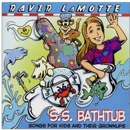 S.S. Bathtub: Songs for Kids and Their Grownups Awards: ? 2002 USA Songwriting Competition - First Place in Childrens Category for the song S.S. Bathtub ? 2001 Northern California Song Contest - First Place in Childrens Category for the song Drops Like Me ? 2000 SAW Mid-Atlantic Song Contest, First Place in Childrens Category and First Place overall for the song S.S. Bathtub ? 1999 Parents Guide to Childrens Media Award for the entire recording A truly delightful mix of songs... Sail with LaMotte on his S.S. Bathtub. Its one of those tapes that youll be happy your kids want to hear over and over. - Parents Guide to Childrens Media S.S. Bathtub is of course a delight. While LaMotte has himself written less than half the albums dozen songs, he infuses them with the same casual cheerfulness that has become his trademark. - James Cassara, Rapid River Magazine, NC Arvid Smith of Floridas Folio Magazine called S.S. Bathtub David LaMotte having the time of his life in the studio under the guise of making a childrens record. Thats about right. The concept was to make a recording of songs that would be as enjoyable for adults as for children. Most of the covers were originally written for adult audiences, but David and Chris Rosser, who co-produced it, decided these songs would work pretty well for both audiences. There are only a few original songs on this record, the rest are songs that David grew up on or were included because they seemed just right for this collection. The production style isnt as bouncy as many kids records, due to the belief that kids have better taste in music than we give them credit for. LaMottes only kids CD, it is the winner of a 2002 First Place Award in the USA Songwriting Competition, as well as First Place in the Childrens Category and First Place overall (across all genres) in the Songwriters Association of Washingtons 2000 song contest for the title track, S.S. Bathtub. In 2001 the song Drops Like Me won the childrens category in the Northern California Song Contest. In 1999 the album was honored with a coveted Parents Guide to Childrens Media Award. LaMotte has recorded six albums for adults, and has performed over fifteen hundred shows in forty-two states and ten countries. The idea of recording a childrens project began as a whim, but the record moved of its own momentum to gain critical acclaim. He now performs occasional childrens shows, but continues to perform mostly for adult audiences. The artwork on the record was created by John Gallagher, creator of Buzzboy comic books. John and David met when John married a college friend of Davids, and he has become a good friend as well. The original version of the cover had a little boy and girl in the bathtub instead of David, but it was decided that putting a long-haired Dave in a tie-dye would be more fun, and throw just enough funk in to keep it from looking like there would be any purple dinosaurs making guest appearances on the record. There are, however, some pretty stellar guests, including John McCutcheon, Christine Kane, Chris Rosser, Beth Wood and Laura Boosinger. David is now working with Virginia illustrator Carrie Patterson on a childrens book based on the lyric to the song S.S. Bathtub.