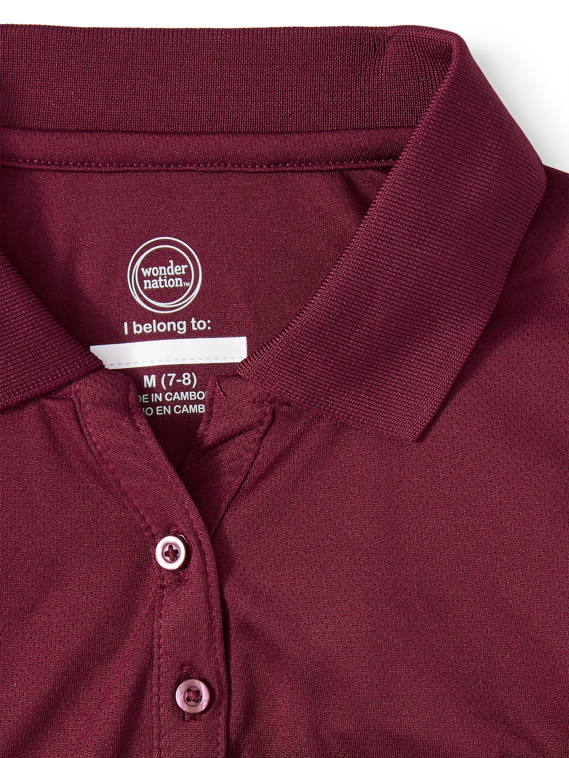 Mehroon Color Details about  /  Men/'s Perfect Fit Polo Tshirt L-Size  Running