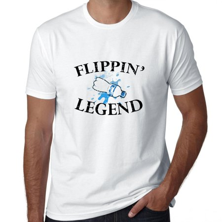 Water Bottle Flipping Legend - Awesome Graphic Men's T-Shirt